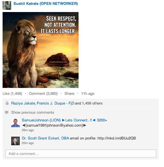 LION – Τα Λιοντάρια του LinkedIn