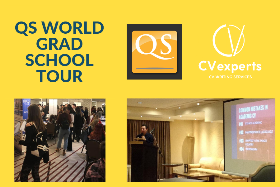 02/03/2019 – QS World Grad School Fair for Masters & PhD Studies – Αθήνα